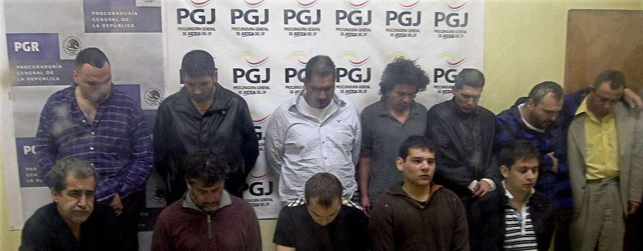 El 80 % de los 623.213 detenidos en los operativos contra el crimen organizado y el narcotráfico realizados en México durante la Presidencia de Felipe Calderón (2006-2012) está libre definitiva o provisionalmente, según datos de la Fiscalía publicados hoy por el diario Excelsior.