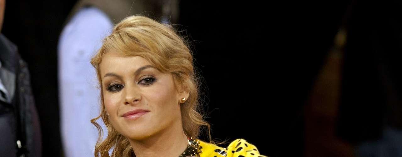 """Paulina Rubio alcanzó tres postulaciones: Álbum del Año por """"Brava"""", Artista Femenino del Año y Canción del Año por """"Me gustas tanto""""."""