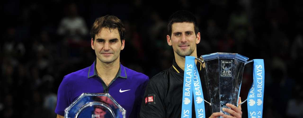 En un clásico del 2012, Federer y Djokovic se enfrentaron por la supremacía en las ATP World Tor Finals, pero fue el serbio el que salió con las manos en alto, sin embargo, reconoció la brillantez de un Roger extraordinario a sus 31 años.