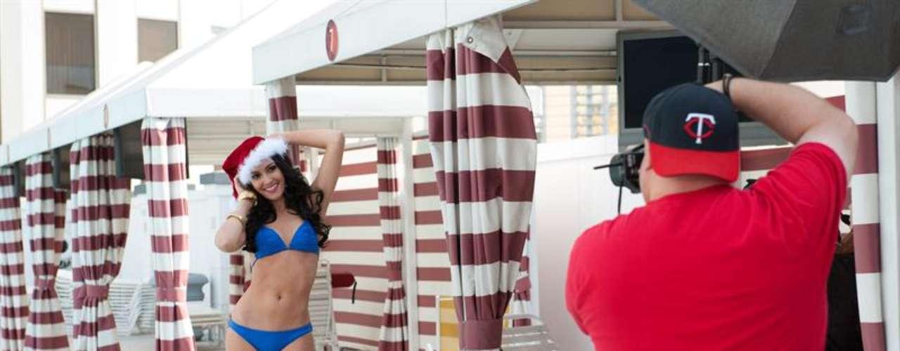 Para las participantes al certamen de Miss Universo, como Miss Tailandia, esta es una de las sesiones de preparación para las próximas intensas semanas que tendrán que vivir en sesiones de fotos, grabaciones, ensayos y pasarán el tiempo haciendo nuevos amigos, mientras llega el día de la entrega de la codiciada corona.