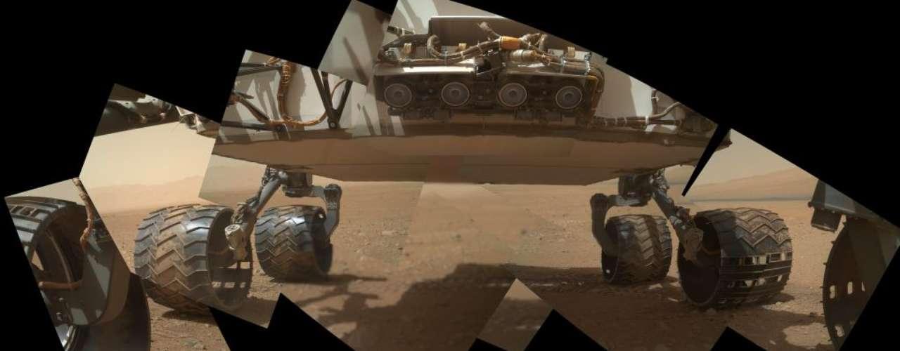 En agosto, el robot Curiosity de la Nasa tocó a la superficie de Marte en busca de signos de existencia de vida y pistas sobre el entorno habitable del planeta.