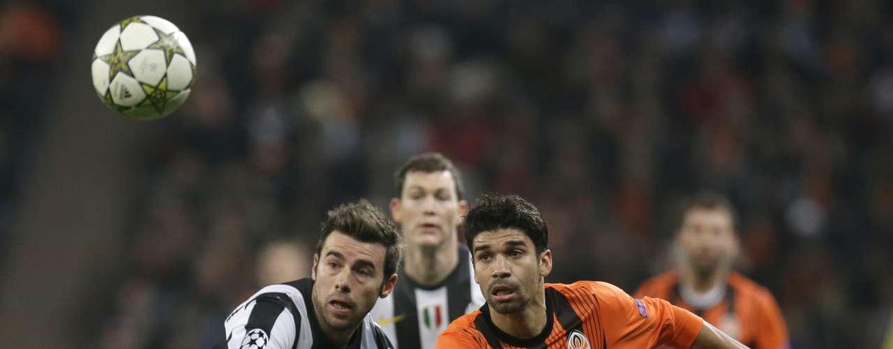 No hubo noticias del Shakhtar hasta la segunda mitad. En los primeros minutos perdonó a la Juventus.