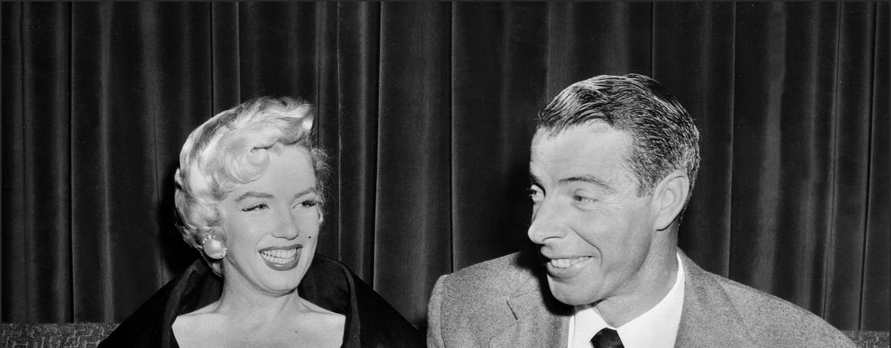 Joe DiMaggio and Marilyn Monroe's marriage was haunted by violence, with Monroe filing for divorce based on \