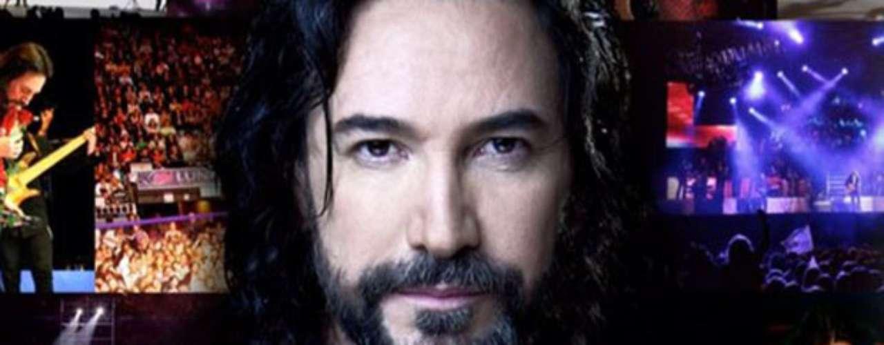 La oficina de prensa de Marco Antonio Solís informó que la estrella logró Disco de Platino por su álbum \