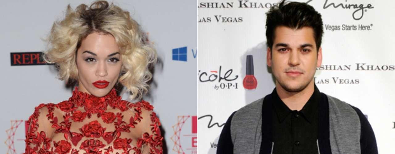 Rita Ora y Rob Kardashian están en un pleito mediático. Rob dijo que terminó su relación con Rita porque supuestamente ella lo engañó con al menos 20 hombres. Actualmente se dice que Rita podría estar embarazada de un hijo del menor de los Kardashian.