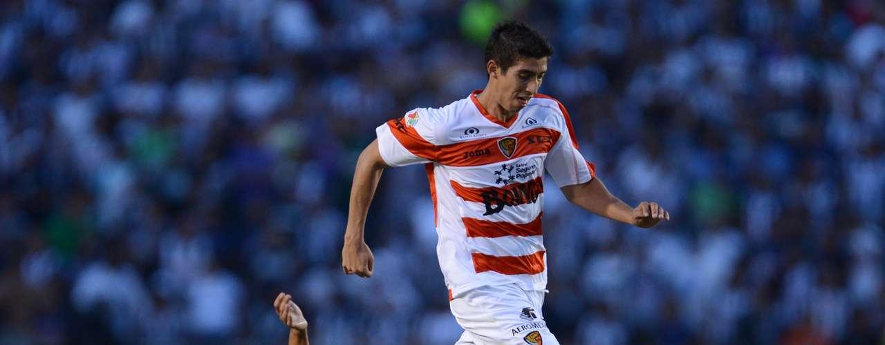 Alan Zamora dejó a Jaguares de Chiapas para ahora jugar con San Luis.