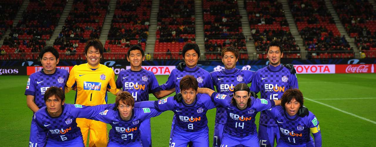 Sanfrecce Hiroshima, ganador de la liga japonesa y representante del país organizador.