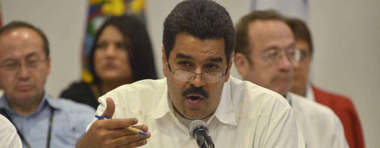 Como jefe de la diplomacia venezolana, Maduro siguió la línea chavista de buscar abiertamente la \