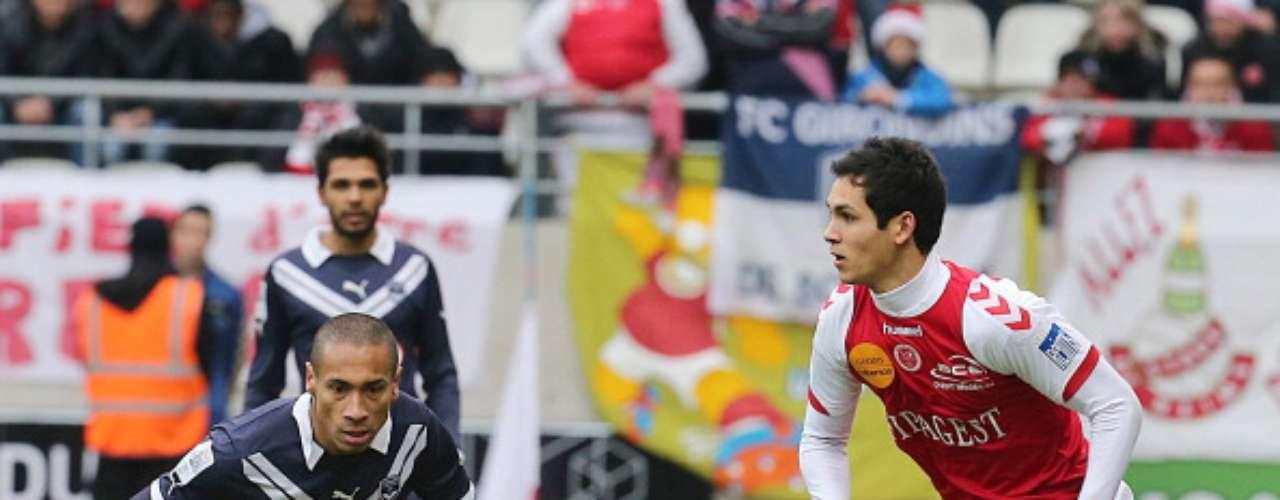 Reims y Bordeaux igualaron 0-0 en un partido denso y de escasa profundidad ofensiva.