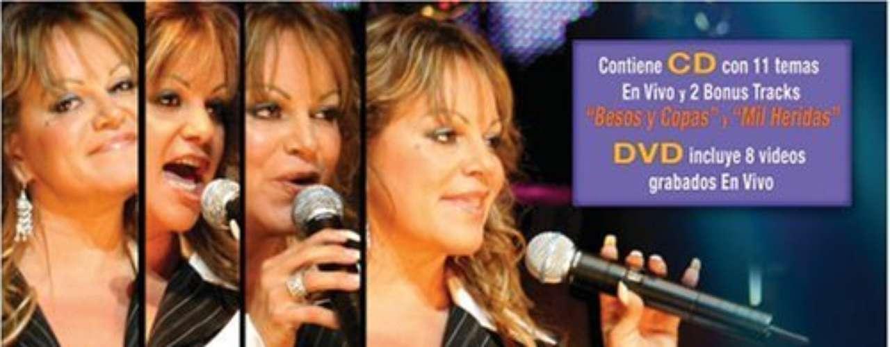 Existen otros tres CD's+DVD's de colección de lo mejor de Jenni, aunque no están en su discografía oficial. Jenni Rivera Besos y Copas desde Hollywood, es uno de ellos.