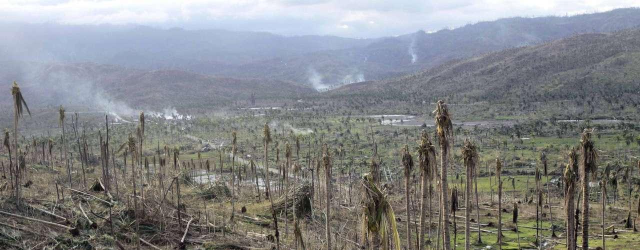 El tifón, que provocó grandes corrimientos de tierra e inundaciones entre el martes y el jueves de la semana pasada, destruyó más de 25.000 viviendas, muchas de ellas chamizos, y afectó a otras 21.000.
