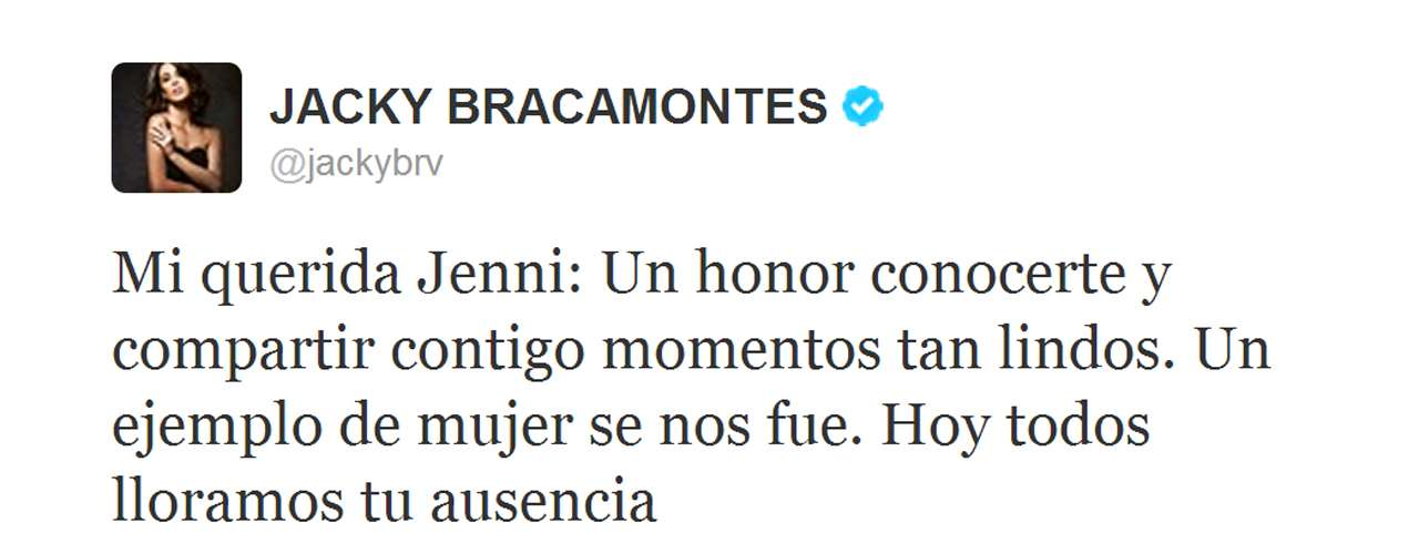 Jacqueline Bracamontes, host of 'La Voz... México 2,' shared her thoughts on her co-worker.