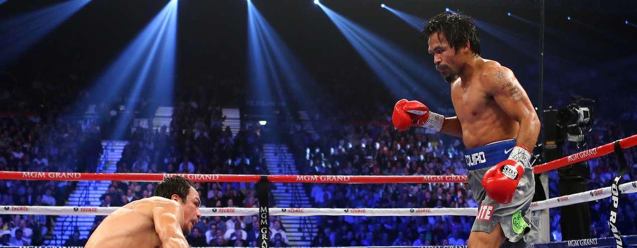 Mayweather también destacó que Márquez y Pacquiao, como los campeones que son, dieron un buen combate, lo que es positivo para el boxeo.