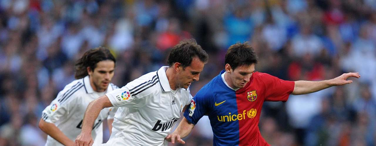 In the 2008/2009 season, Messi was instrumental in Barcelona's historic 6-2 rout of Real Madrid in the Santiago Bernabeau. Messi scored twice and assisted on another goal.