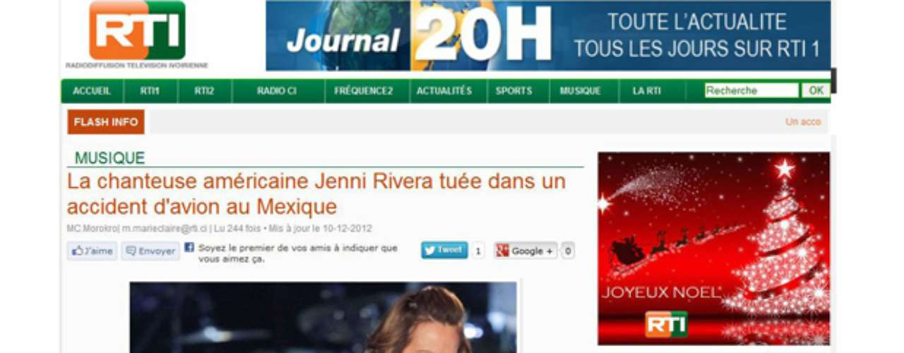 In France, Jenni's passing away was even covered by the prestigious RTI.