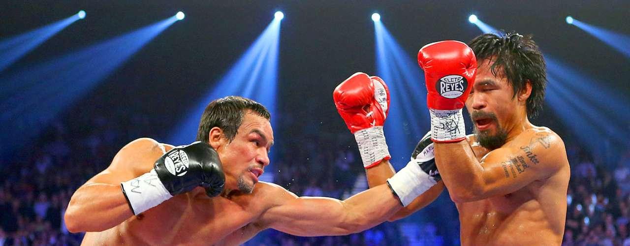 Juan Manuel Márquez; País: México; Récord: 55-6-1 (40 KOs); Títulos: AMB, OMB jr. welterweight