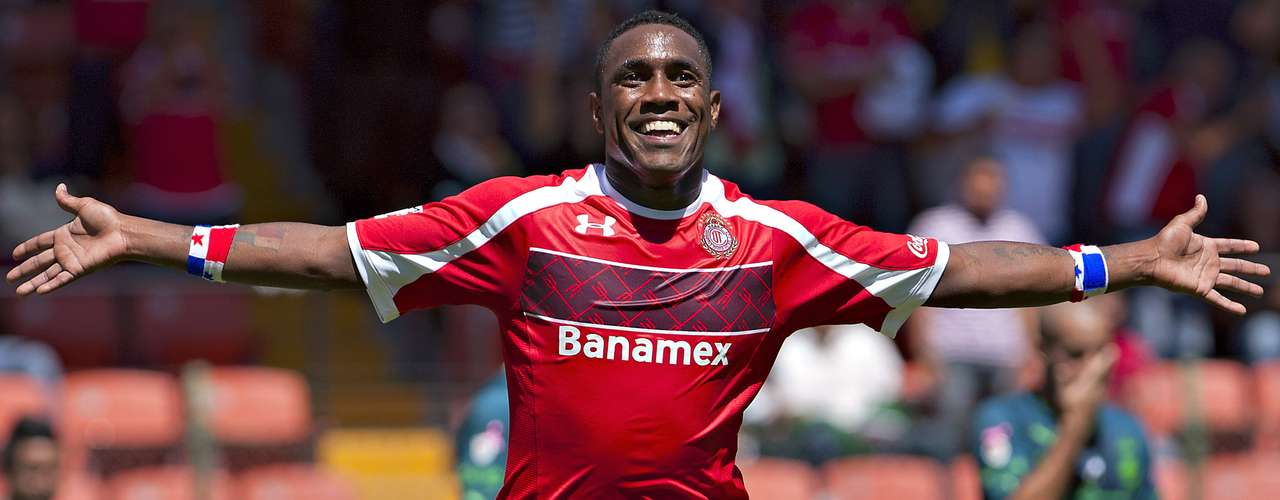Luis Tejada joined Panama in Week 9 of the Apertura 2012 to repalce Ivan Alonso. He scored six goals in 13 matches but failed to score in the Liguilla.