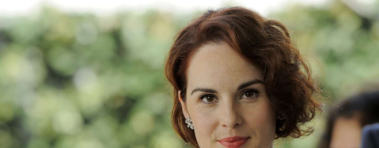 Michelle Dockery por Downtown Abbey