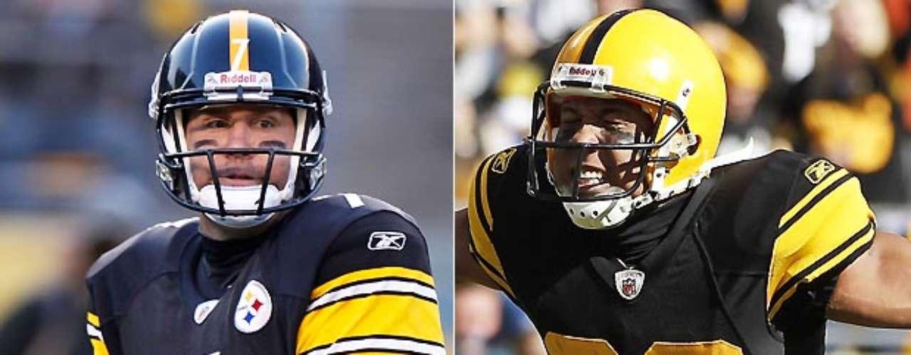 Ben Roethlisberger y Hines Ward se unieron en dos victorias de Super Bowl, en el XL y elXLIII. Ward ganó el MVP en el XL después de la captura de cinco pases para 123 yardas y una anotación. En el XLIII, Roethlisberger completó 21-de-30 pases para 256 yardas, y su pase de touchdown a Santonio Holmes con 35 segundos por jugarse aseguró la victoria 27-23 a Pittsburgh. La pareja regresó al Super Bowl dos años después, pero los Steelers cayeron 31-25 ante Green Bay.