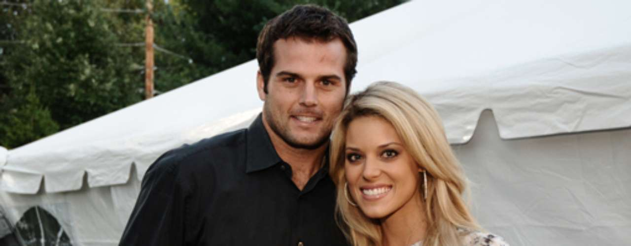 Miss USA Carrie Prejean, infamous for her stance on same-sex marriage, married former NFL quarterback Kyle Boller.
