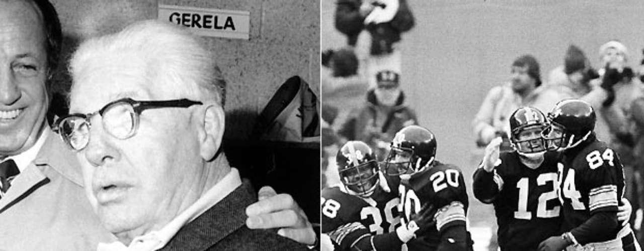 Art Rooney fue el dueño de los Steelers de Pittsburgh por 40 años antes de que finalmente ganaran su primer partido de playoffs en 1972. Las compuertas se abrieron de repente, pues Pittsburgh ganó cuatro Super Bowls en la década. Rooney murió en 1988, pero el liderazgo pasó a sus hijos, que han guiado a los Steelers a dos victorias de Super Bowl más, y a dos apariciones adicionales.