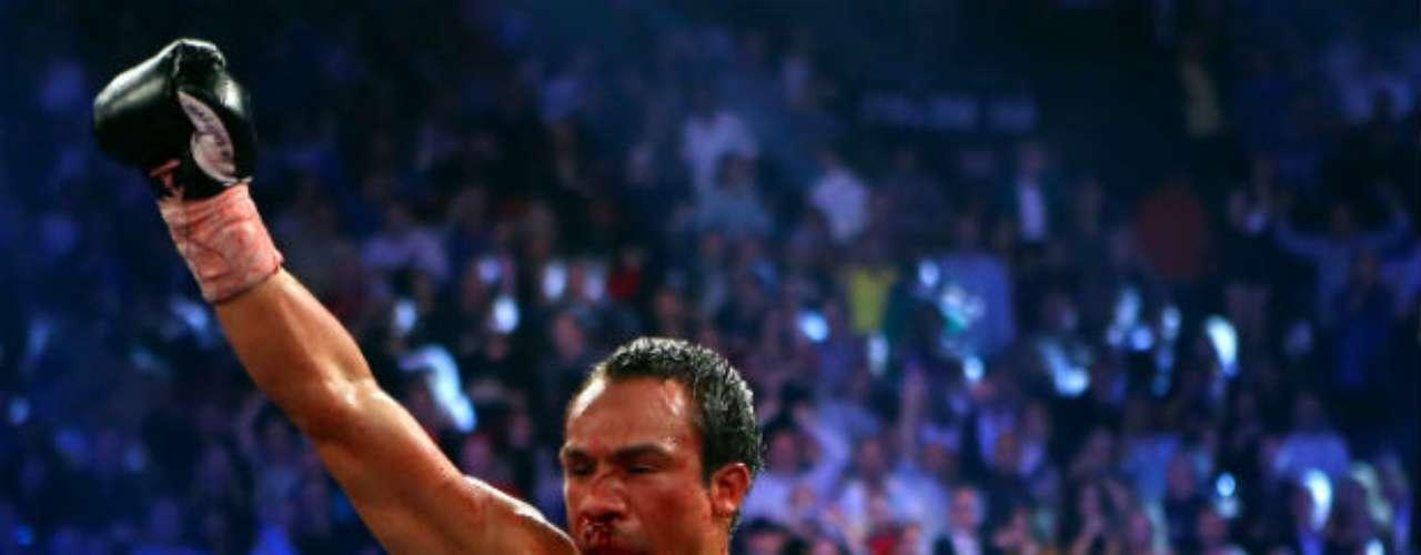 Juan Manuel Márquez es la figura del boxeo en este año. El mexicano tuvo la osadía de \