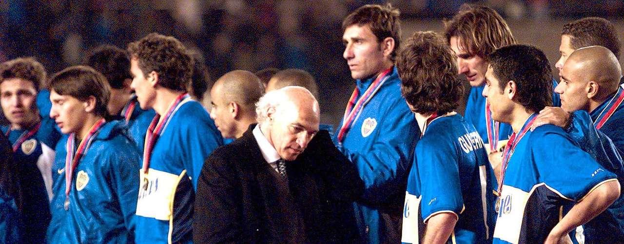 En el segundo semestre ol objetivo era la Copa Intercontinental 2001. No se pudo ante el Bayern Munich, derrota por 1-0