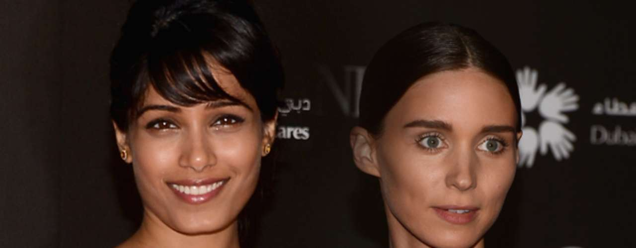 Freida Pinto and Rooney Mara shined at the 2012 Dubai International Film Festival.