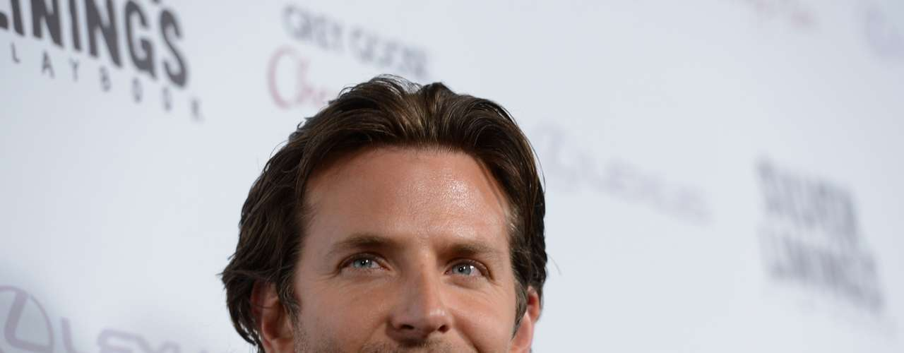 Bradley Cooper competirá en la categoria como Mejor Actor por su rol protagonico en Silver Linings Playbook.