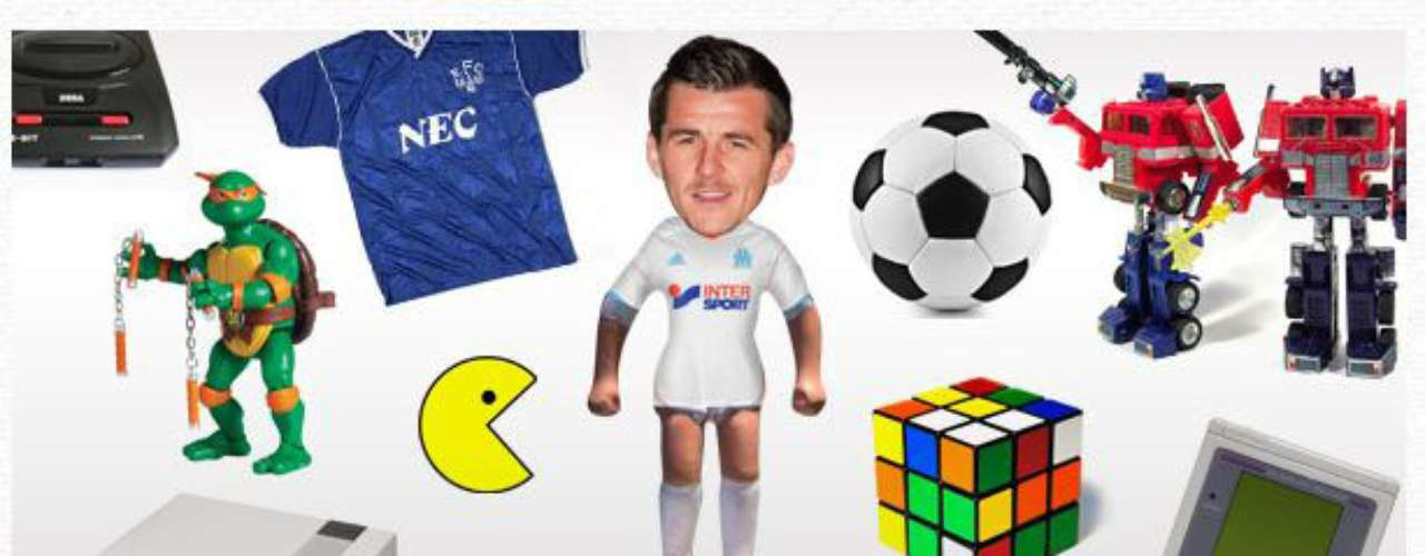 Soccer bad boy Joey Barton shows his lighter side when buying Christmas gifts for his children and reminiscing about toys of yesteryear.