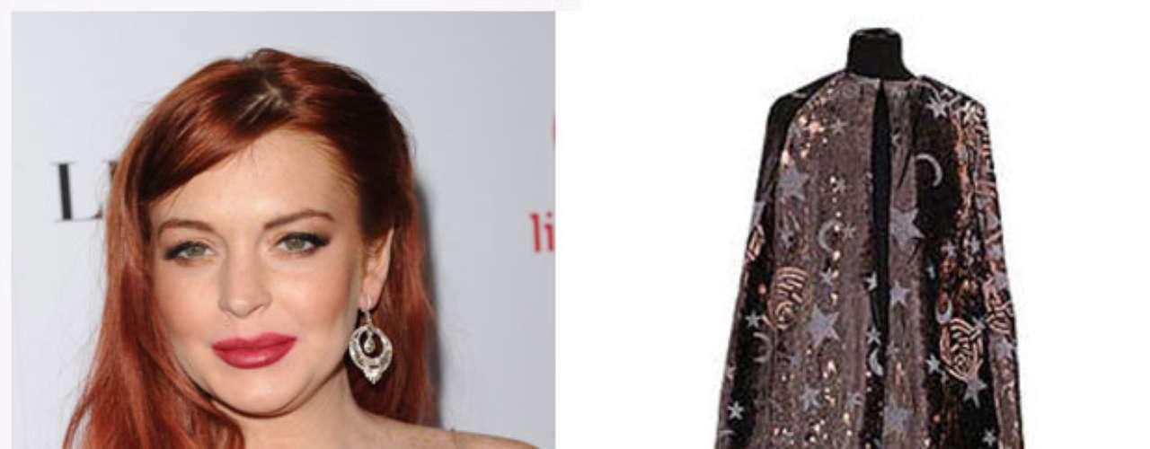 Para Lindsay Lohan le tenemos la capa de Harry Potter que permite hacerse invisible. Con todos los escándalos y tonterías que hizo Lindsay este año (y el anterior, y el anterior), no le queda otra que cubrirse con la capa y desaparecer del ojo público por un buen rato.