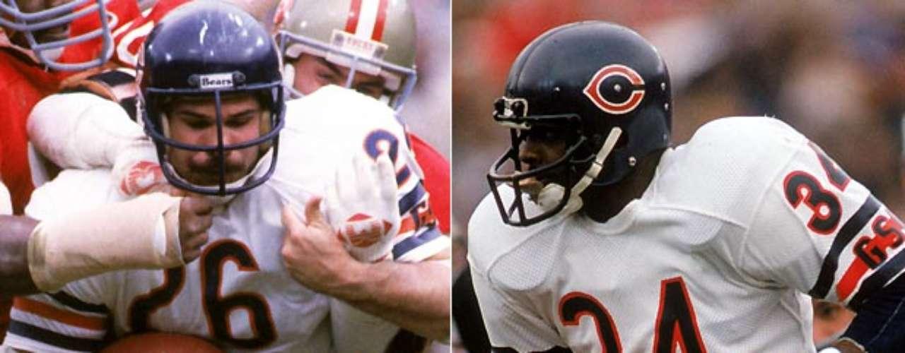 Matt Suhey (izquierda) bloqueóal legendario Walter Payton en sus últimas ocho temporadas, ayudando a establecer la marca de Payton como corredor de la NFL en 1984, y juntos ayudaron a los Bears a ganar el Super Bowl XX. Sin embargo, su vínculo era aún más fuerte fuera de la cancha, pues Payton y Suhey eran amigos cercanos, y hasta Payton le pidió a Suhey que cuidara a sus hijos, en su lecho de muerte en 1999.