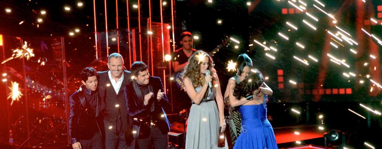La aprendiz de Jenni Rivera fue felicitada por todos los concursantes de la emisión