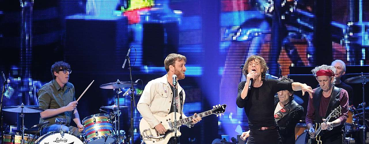The Rolling Stones brought out the big guns for a special show at the Prudential Center in Newark, New Jerse on Saturday, December 15. Lady Gaga, Bruce Springsteen, The Black Keys and John Mayer, got to share the stage with the legends. Check out the photos here.