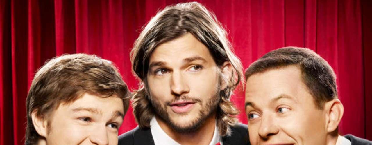 Two and a Half Men. Tras la salida de Charlie Sheen del programa, sin embargo, la trama cambió y se centró en Walden Schmidt, interpretado por Ashton Kutcher.