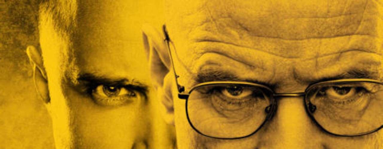 Breaking Bad. Drama que cuenta la historia de Walter White, un hombre que, tras ser diagnosticado de cáncer, se mete al mundo de las drogas.