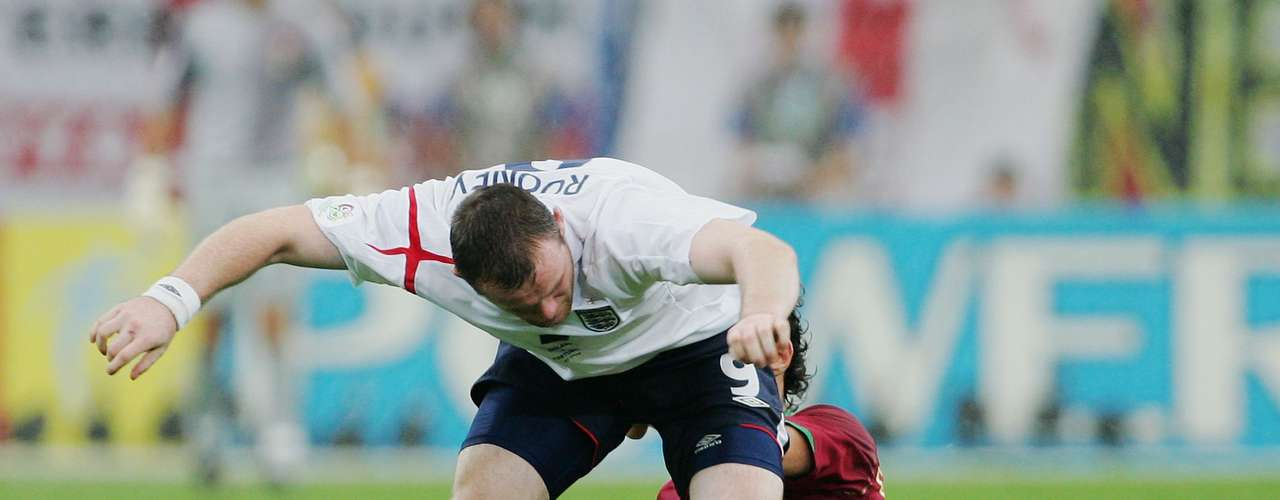 Wayne Rooney had a message Ricardo Carvalho in the 2006 World Cup -- \