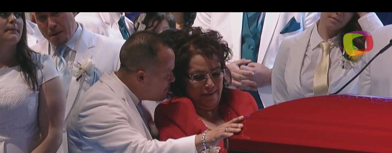 One of the most touching moments were Rosa Saavedra's words. The mother of \