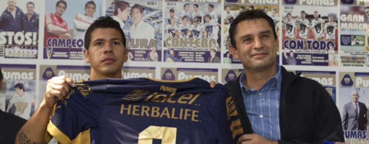Robin Ramírez ya fue presentado con los Pumas.