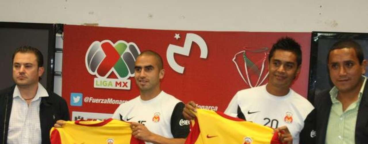 Fernando Morales y Sergio Santana son del Morelia.