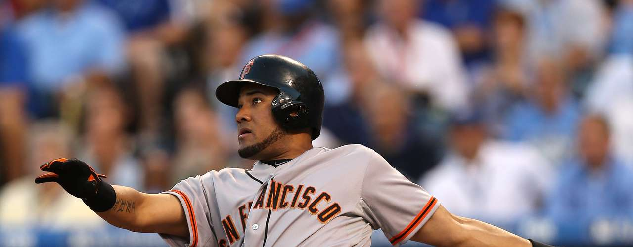 11) FALLING STAR. Melky Cabrera, of the San Francisco Giants, was suspended 50 games for 'doping'. The Dominican star tested positive for Testosterone when he was poised to be an MVP candidate at the end of the year.
