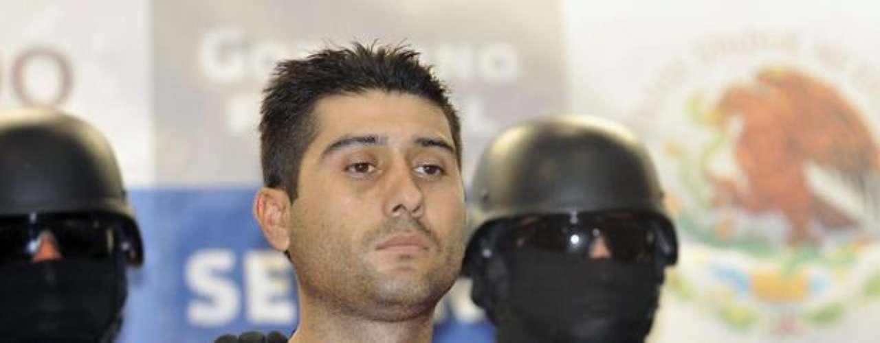 9 de marzo del 2012.- Militares capturaron a Erick Valencia Salazar, alias \