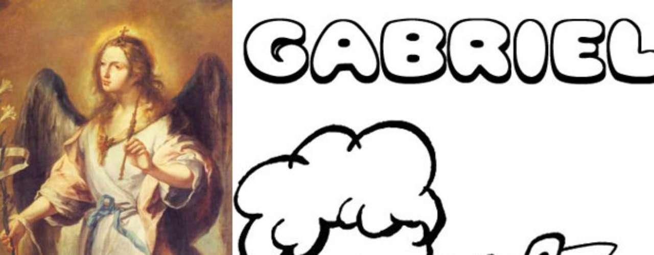 Gabriel es el nombre de uno de los arcángeles bíblicos, quien anunció a María su maternidad. Significado del nombre Gabriel Viene de gabri, posesivo de gebar: \