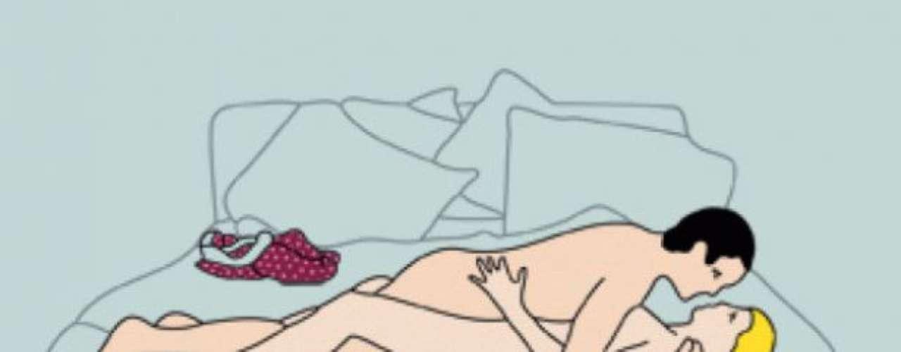 Noche de paz: Practiquen una noche de sexo tranquilo y romántico. Ideal para después de una fiesta cansada. Es como el misionero pero con la característica de ser muy lenta y con movimientos casi imperceptibles. Ideal para una conexión más íntima.