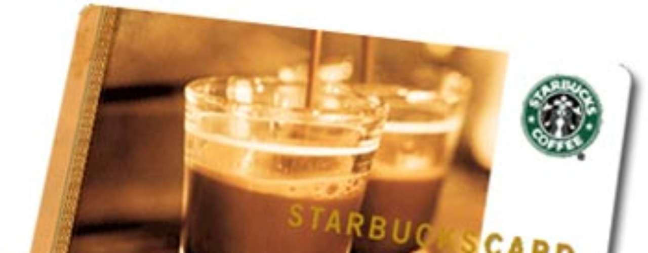 Tarjeta de Starbucks por 25 dólares: siempre es un buen regalo tener el café de la mañana asegurado.