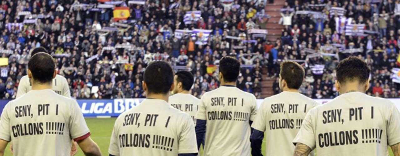 Andrés Iniesta dedicó la victoria 3-1 del Barcelona sobre Valladolid para el entrenador Tito Vilanova, que convalece de una operación.