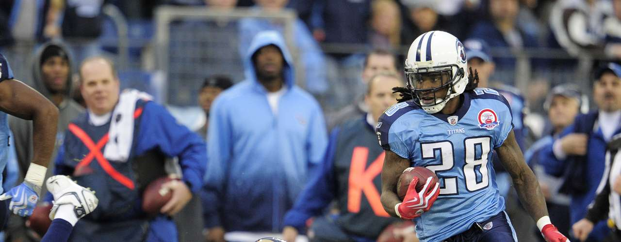 Chris Johnson was the last running back to reach 2,000 yards in 2009 with the Tennesee Titans. He finished the year with 2006 yards.