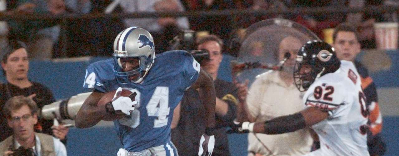 Also largely forgotten because of Bruce and Rice's efforts, another Lions receiver, Herman Moore, gained 1,686 receiving yards in '95.