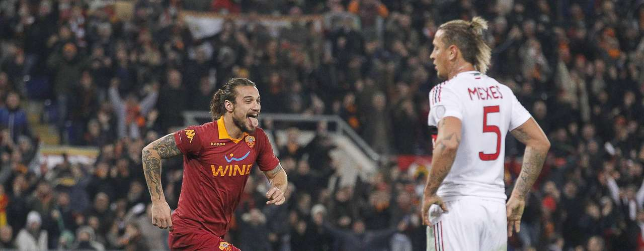 Roma shocked Milan 4-2 in the best Serie A match of Round 18.