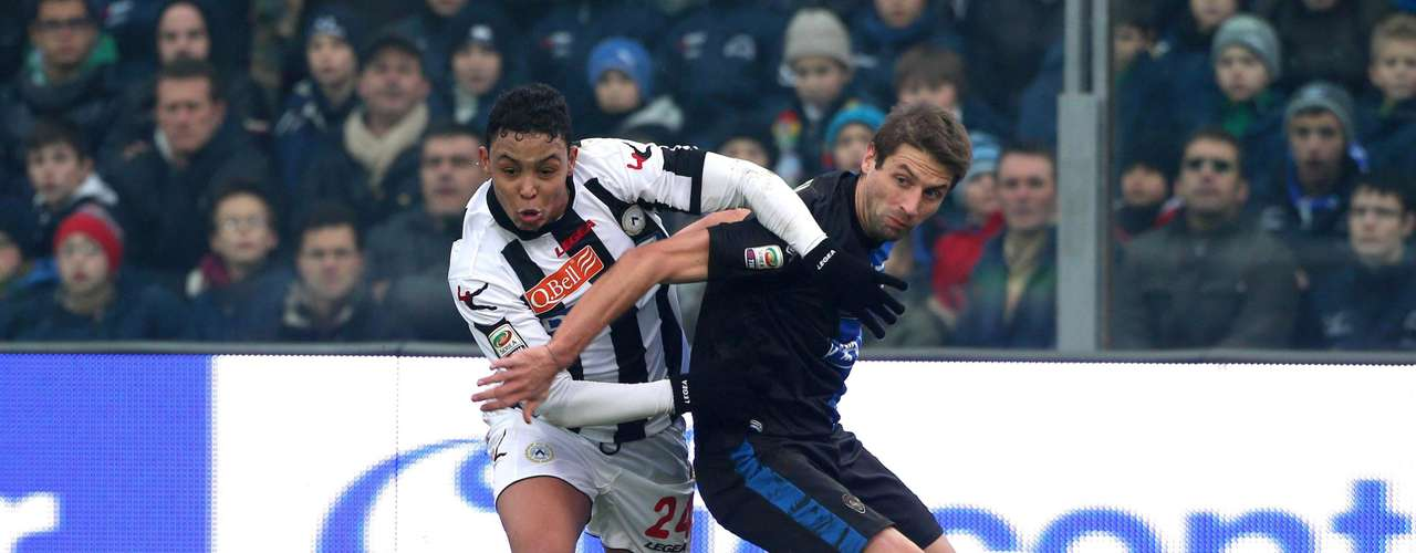 Atalanta and Udinese split points after drawing 1-1.